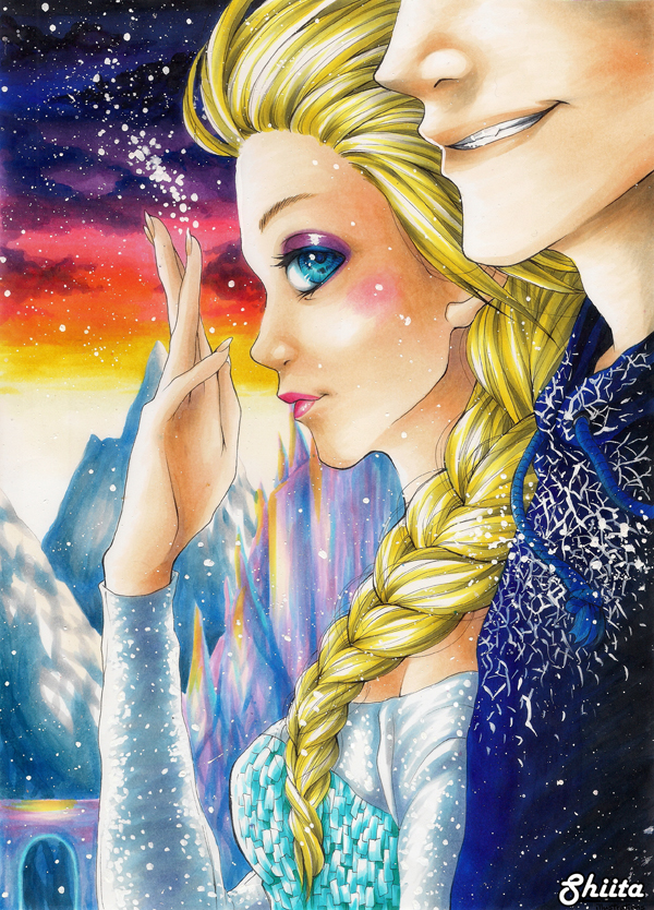 Frozen - A brand new dawn (Jelsa) by Shiita