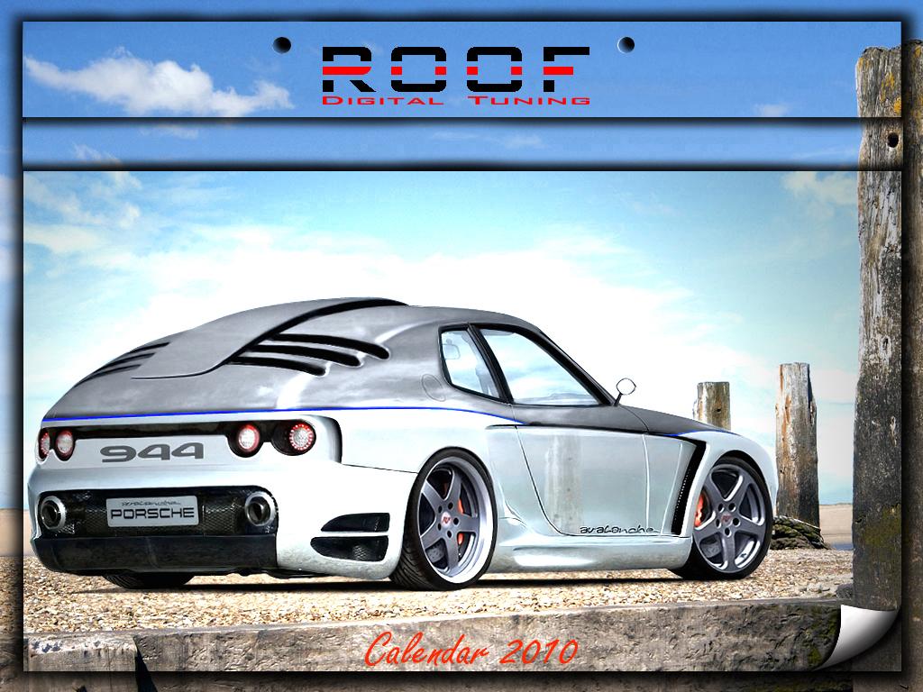 PORSCHE 944 2010 CALENDAR by ROOF01