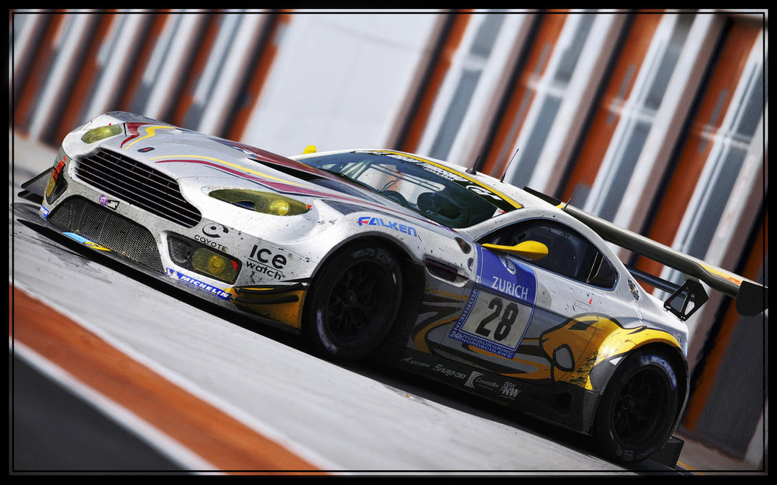 Aston Martin V12 GT3 by ROOF01