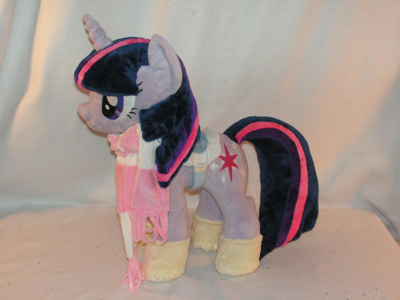 Commission: Twilight Sparkle Plush by KarasuNezumi