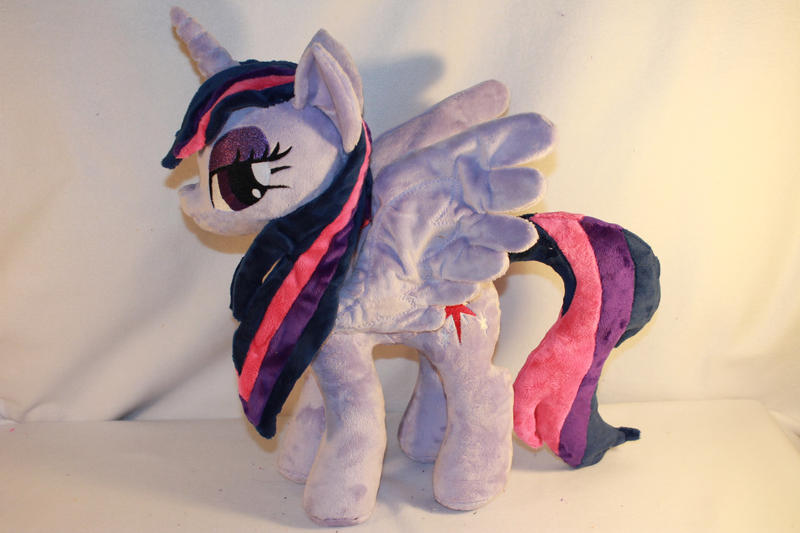 Wet Mane Alicorn Twilight Sparkle by KarasuNezumi