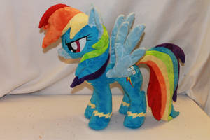 Commission: Wonderbolt Rainbow Dash by KarasuNezumi