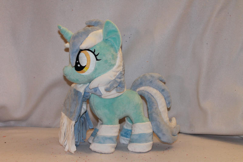 Filly Lyra Plush by KarasuNezumi