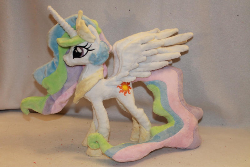 Tiny Princess Celestia Plush by KarasuNezumi