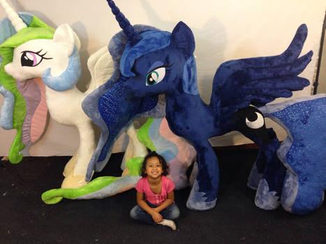 Life Size Luna And Celestia