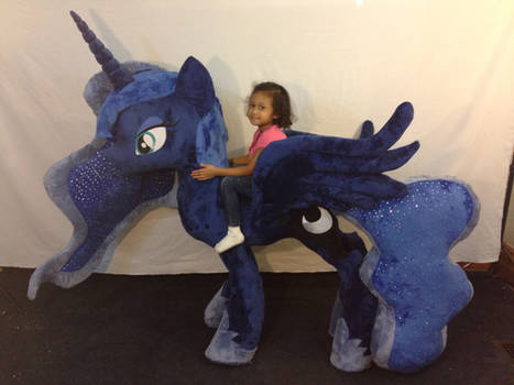 Life Size Luna Plush