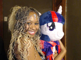 Just a Picture of Me and Twilight Sparkle