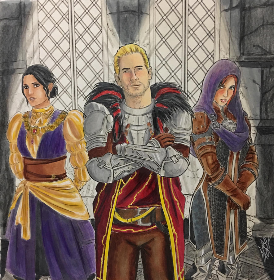 Dragon Age Coloring Book Coloring Pages