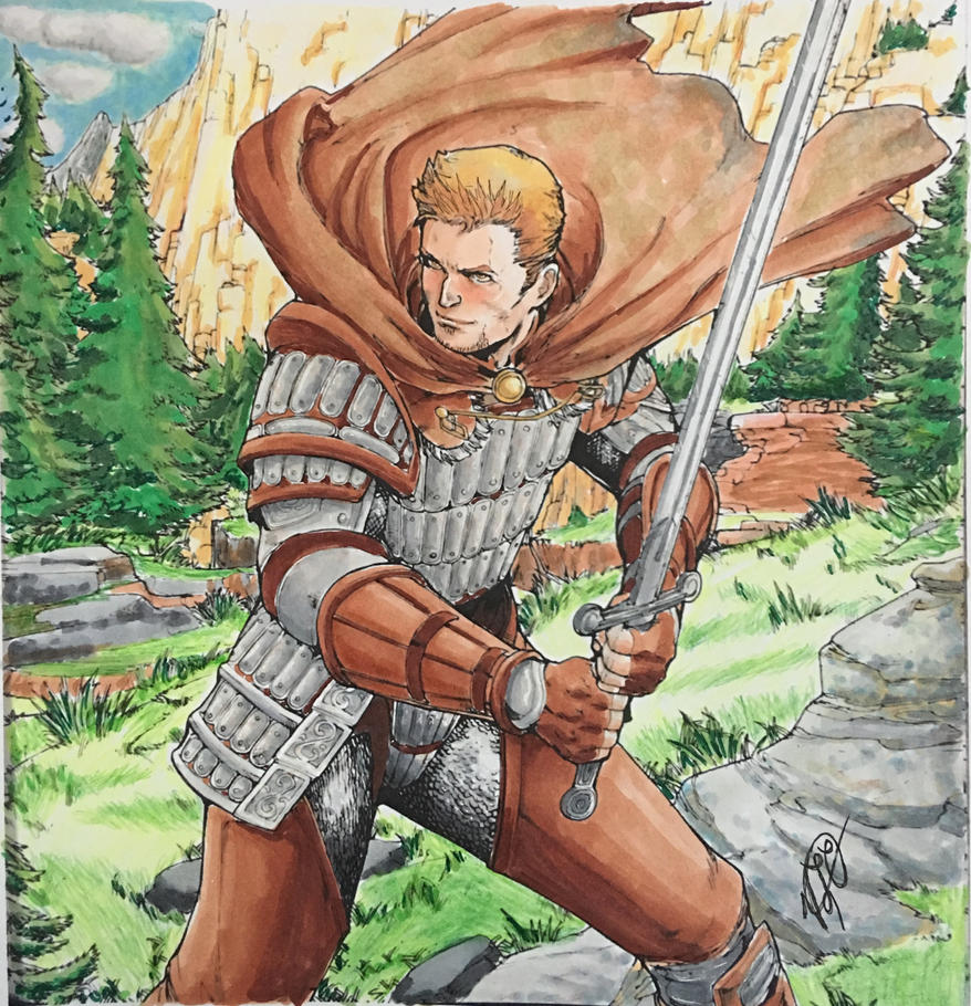 Dragon Age Adult Coloring Book Alistair By SangoSweetz