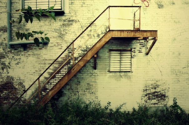 stairs to nowhere by EmmaHillPhotography