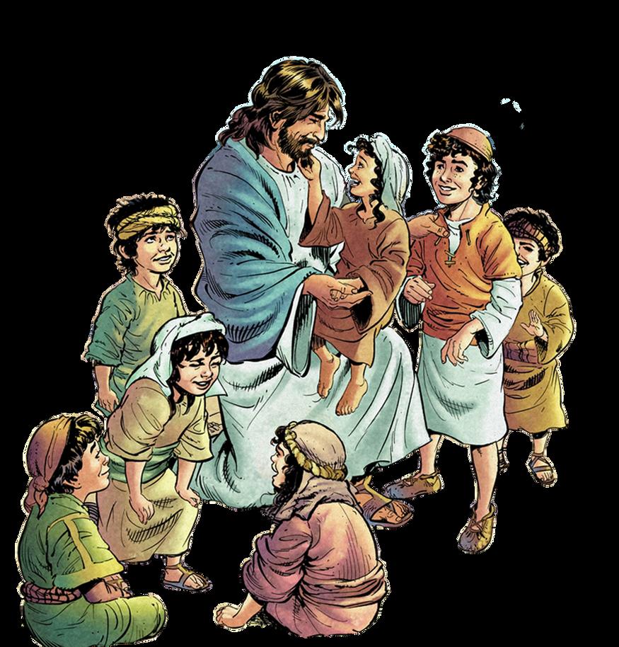Jesus With Children Clip Art FreeJesus With Children Clip Art