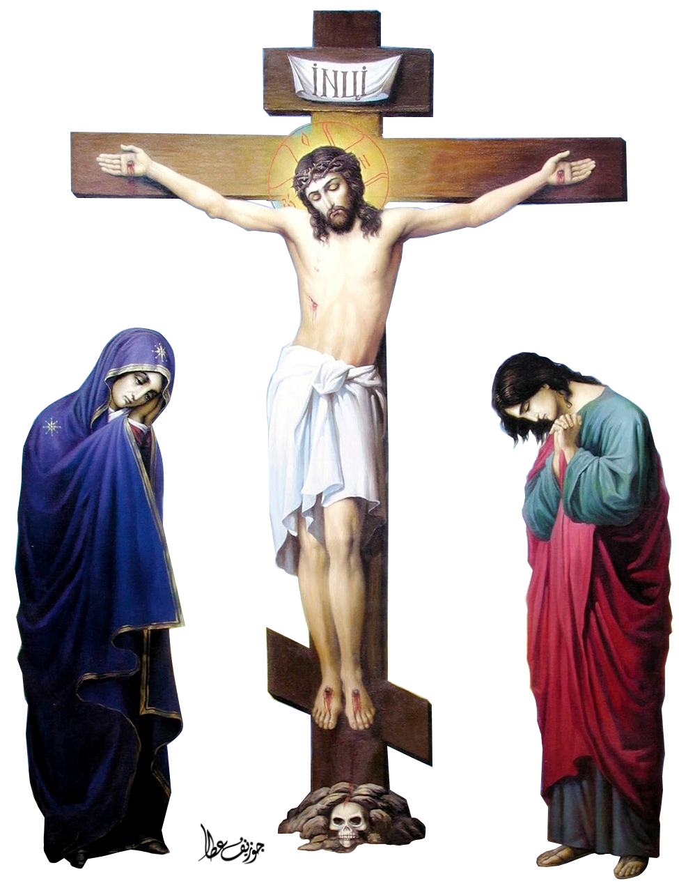 jesus christ crucifixion by joeatta78 on deviantart
