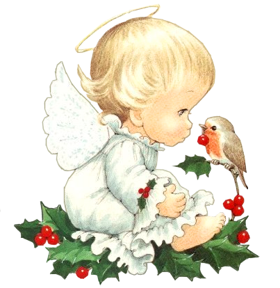cute christmas baby angel with bird clipart by joeatta78 on deviantart. Black Bedroom Furniture Sets. Home Design Ideas