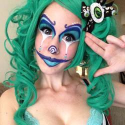 Clownin by fawnkitten