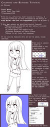 Coloring and Blinking Tutorial by niaro