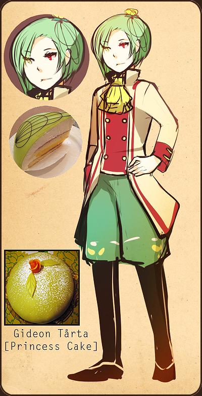 Princess Cake design by niaro