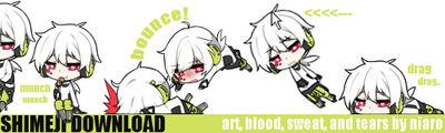 KagePro: Konoha Shimeji [UPDATE mac ver.] by niaro