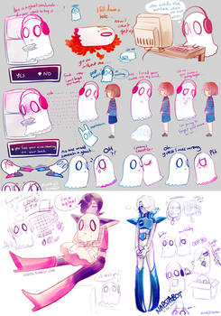 UT: [spoilers] doodles