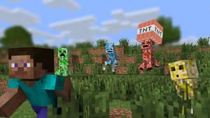 Mine-Imator: Creeper's species