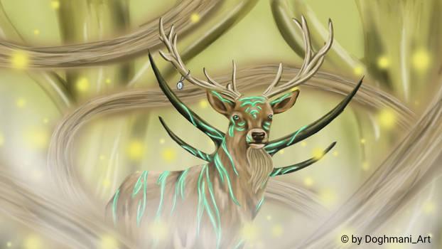 spirit of a tiger/deer
