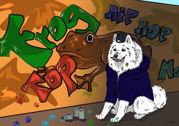yucon cartoon portrait