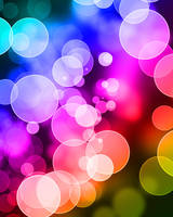 Dotted / bokeh background by arghus