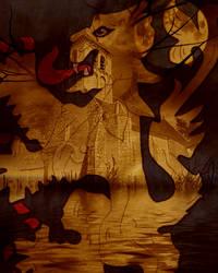 Fantasy background by arghus