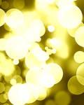 Golden dots / glitter