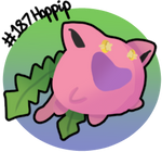 Drawing the Pokedex: #187 Hoppip