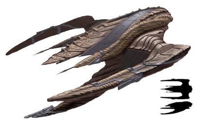 Turikasuul ship concept by CarpeChaos