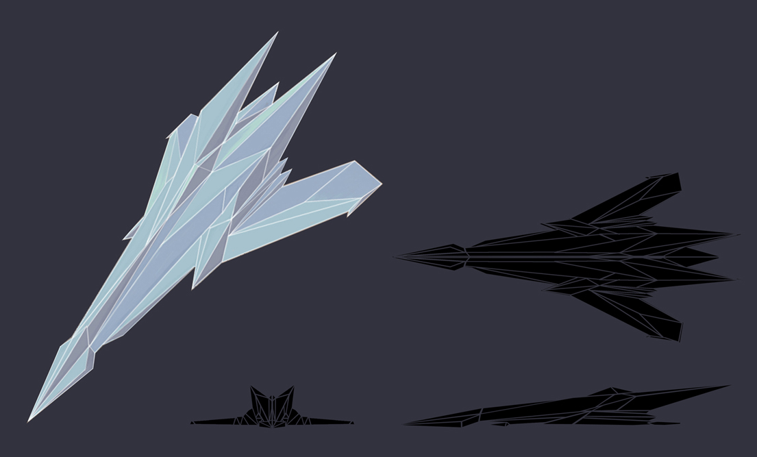 Xotron ship concept by CarpeChaos