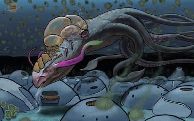 Sea Monster by CarpeChaos