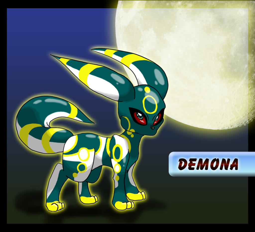 Umbreon Sfm: Demona The Umbreon By BlackySpyro On DeviantArt