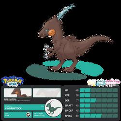 Pokemon Dyko - Raptock