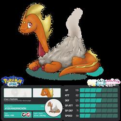 Pokemon Dyko - Magmachon