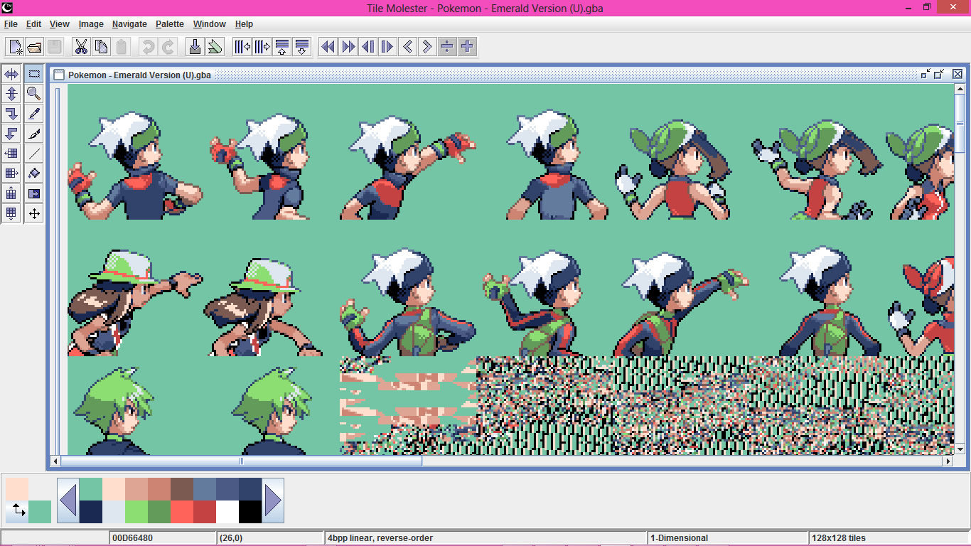 Tutorial Edit Trainer Backsprites In Pokemon Emerald The Pok 233 Community Forums