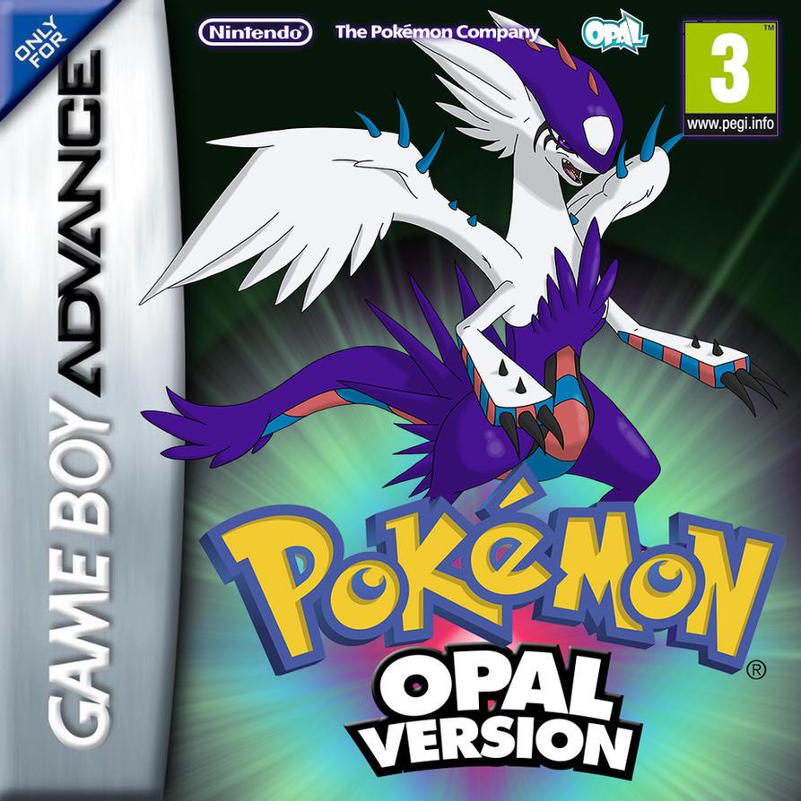 Pokemon Dyko Opal Gba Cover By Blackyspyro On Deviantart