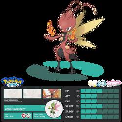 Pokemon Dyko - Flarensect