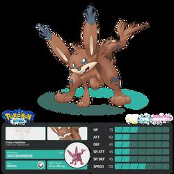 Pokemon Dyko - Bunnious