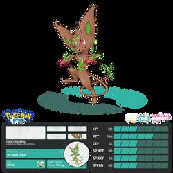 Pokemon Dyko - Flosia