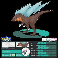 Pokemon Dyko - Raptoric