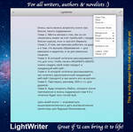 elementary OS LightWriter mockup, version 2