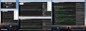 elementary OS PHPurple mockup, version 1