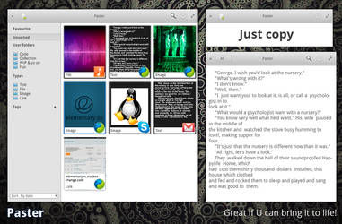 elementary OS Paster mockup 1