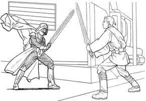 Dart Vader by 13iangel