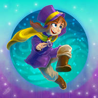 Hat Kid by HipsterAnt