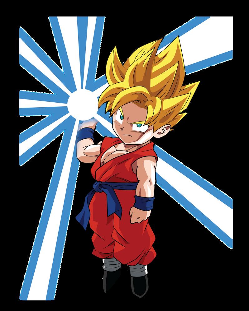 2048 Kid Goku