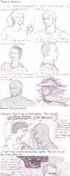 6 Characters Meme by BaaingTree
