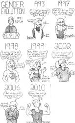 Gender Evolution by BaaingTree
