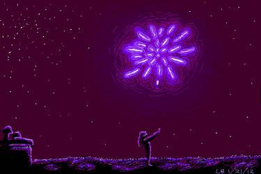 Fireworks by BaaingTree